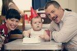 Regina Family Photographer - 1 Year Old - Gordon Cake Smash 2