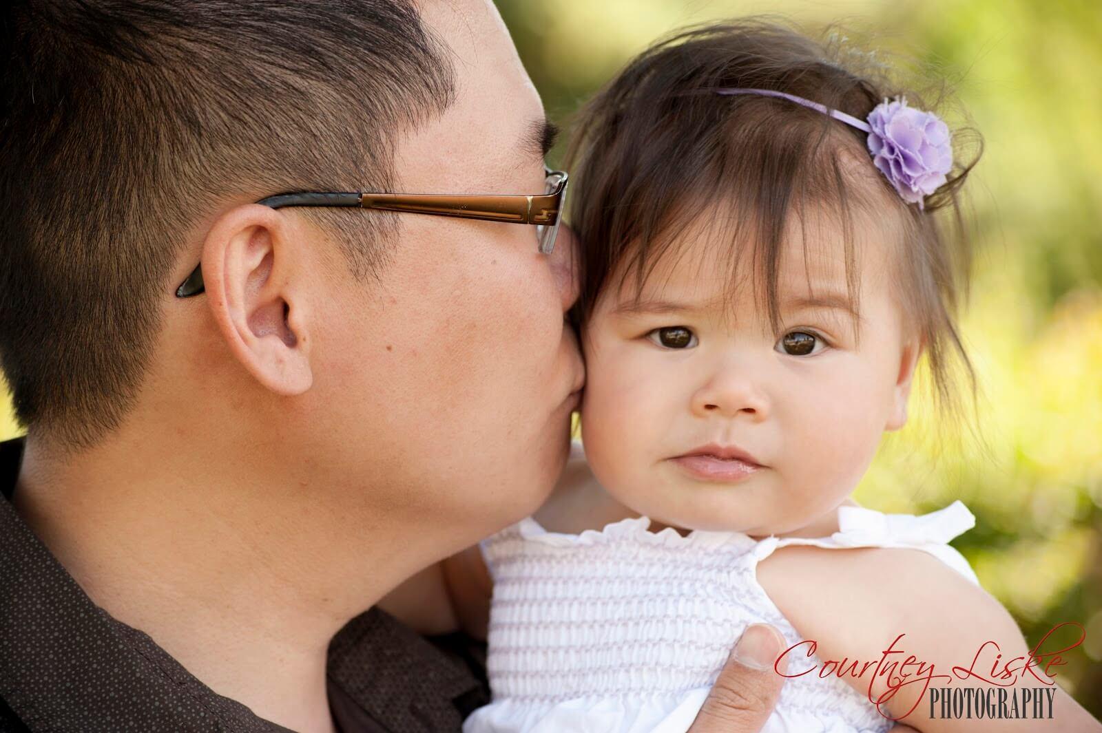 Regina Family Photographer - Sum Family - Dad & Daughter