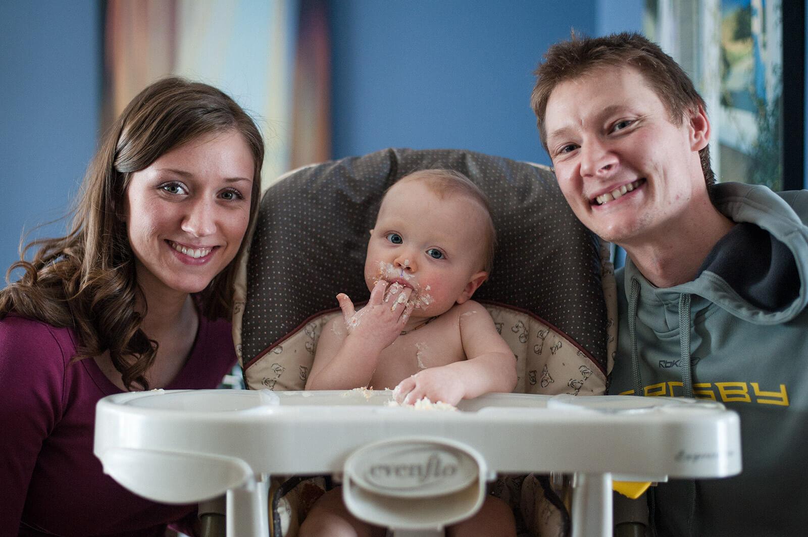 Regina Family Photographer - Elias One Year with Parents