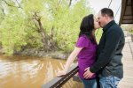 Regina Engagement Photographer - Adam & Vicki - Bridge