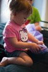 Regina Family Photographer - Hayden is 2 - Time for Presents
