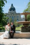 Regina Wedding Photographer - Blair & Lorelle - Wascana Fountain
