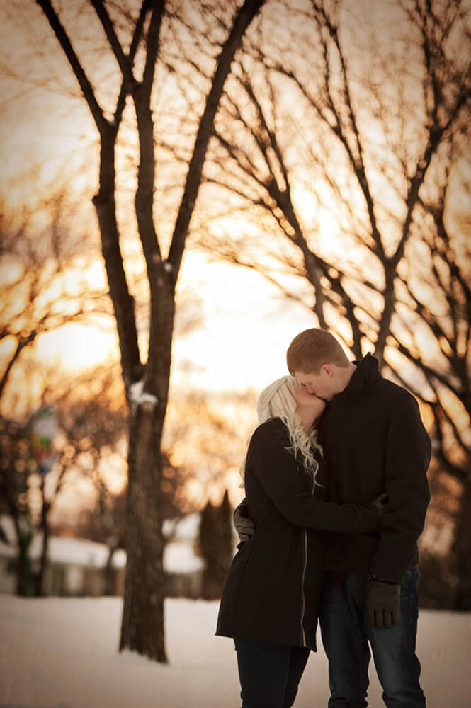 Regina Engagement Photographer - Quentin & Brittni - Sunset