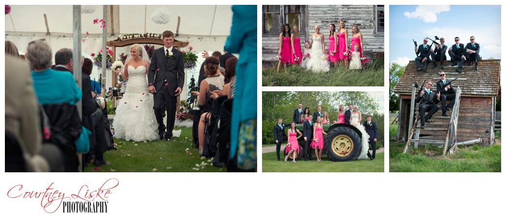 Quentin & Brittni - Regina Wedding Photographer - Courtney Liske Photography