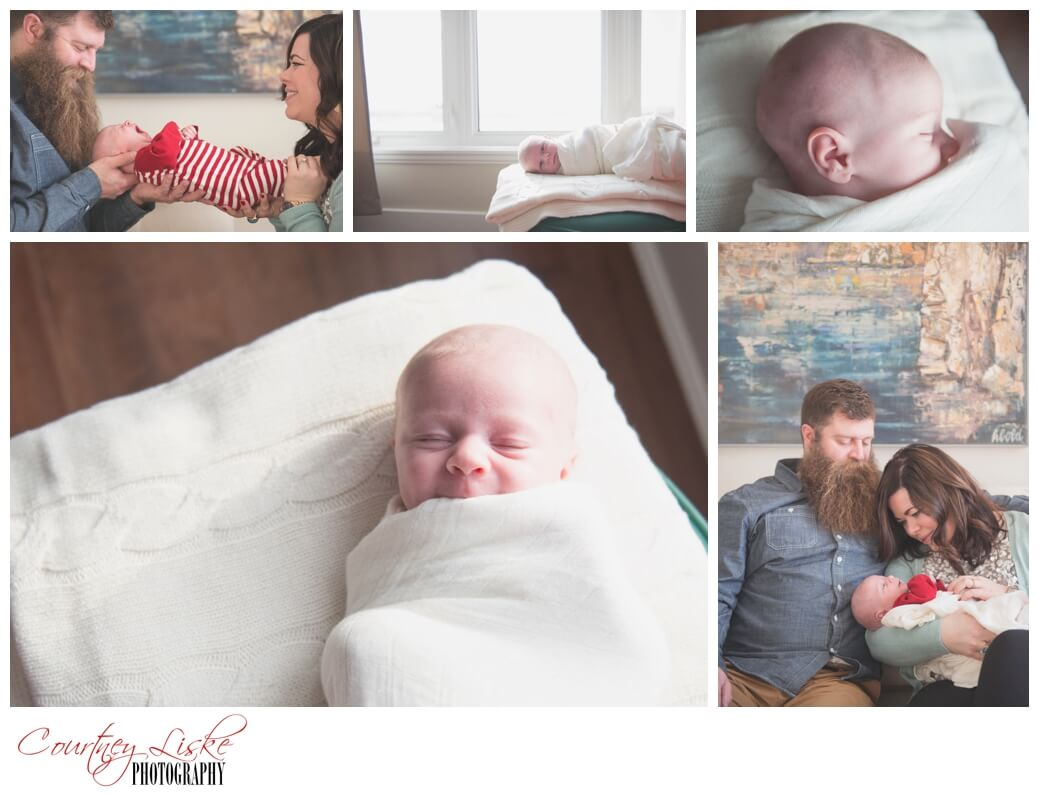 Shepherd Newborn - Regina Family Photographer - Courtney Liske Photography