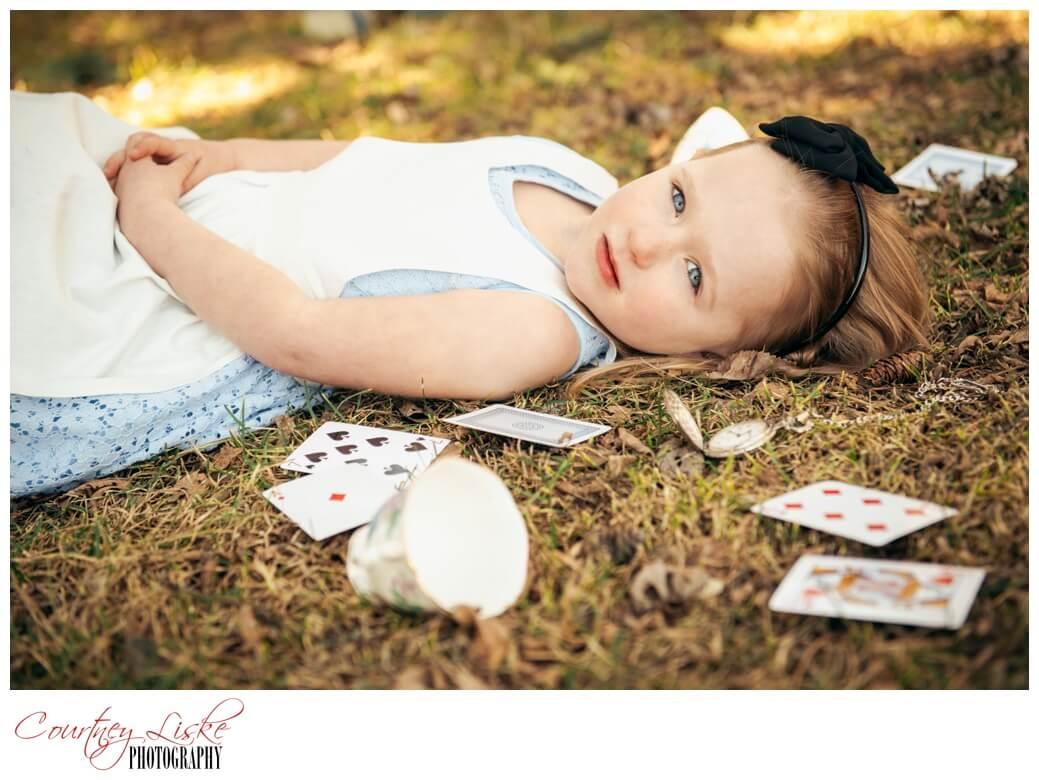 Alice in Wonderland - Regina Family Photographer - Courtney Liske Photography