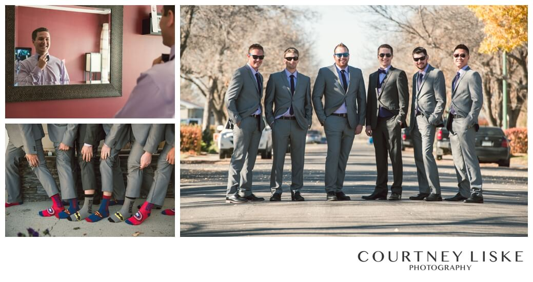 Jarrett & Teala - Regina Wedding Photographer - Courtney Liske Photography