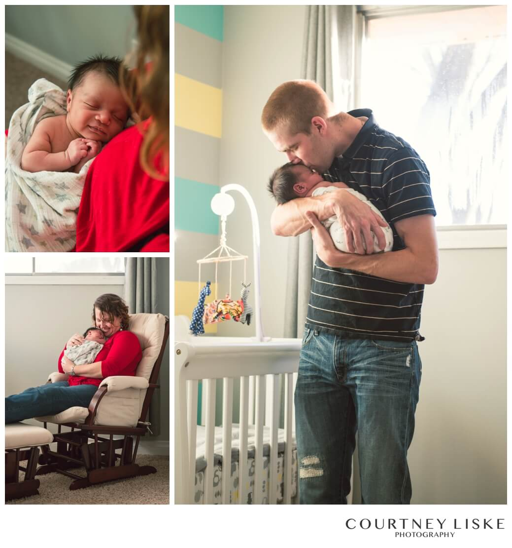 Jonah Newborn - Courtney Liske Photography - Regina Family Photographer