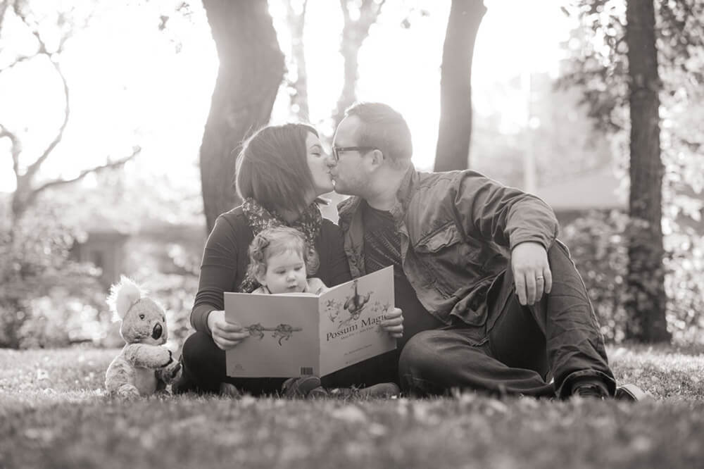 Fall Regina Family photography session in Wascana Park