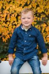 Elias during family photography session with Courtney Liske Photography