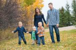 Fall family session with Courtney Liske Photography