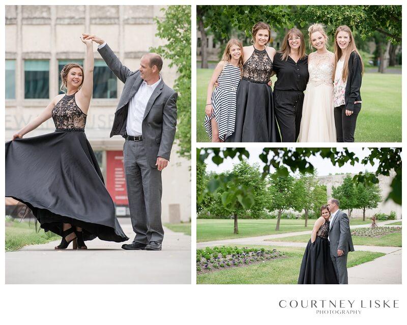 Jessica & Shanae Graduation - Courtney Liske Photography - Regina Family Photographer - Royal Saskatchewan Museum - Family