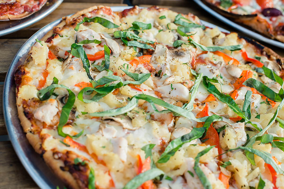Brittania Pizza at The Village Flatbread Co Calgary