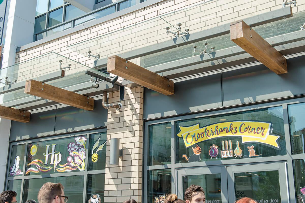 Crookshanks corner cat cafe in Kensington