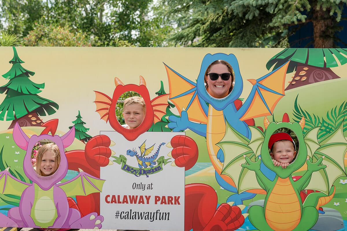 Dragon fun at Calaway Park