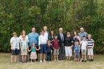 Glasspell family in Indian Head Saskatchewan