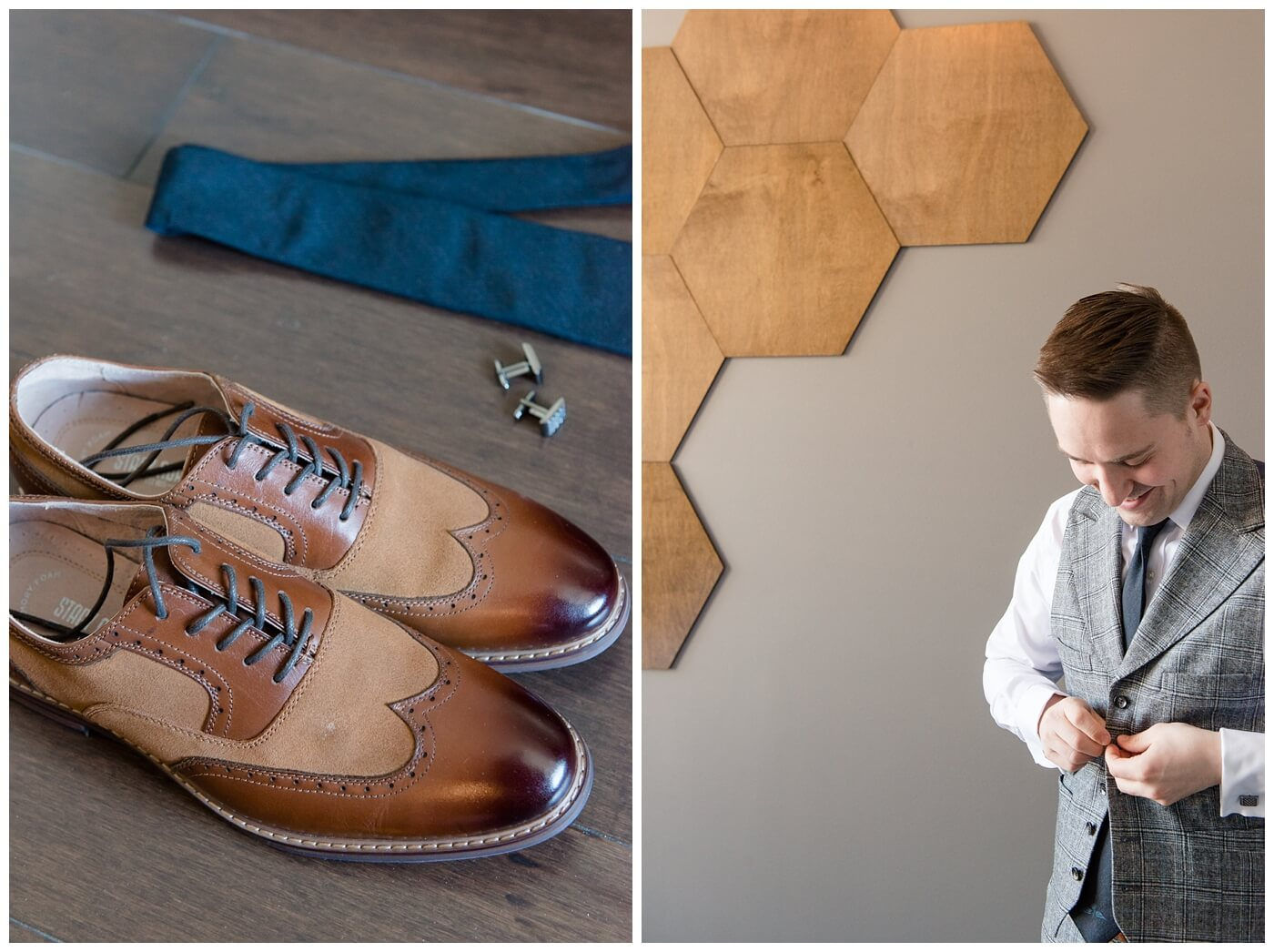 Mark & Kyra - Wedding - 04 - Suit Supply Suit - Colin O'brian Tie