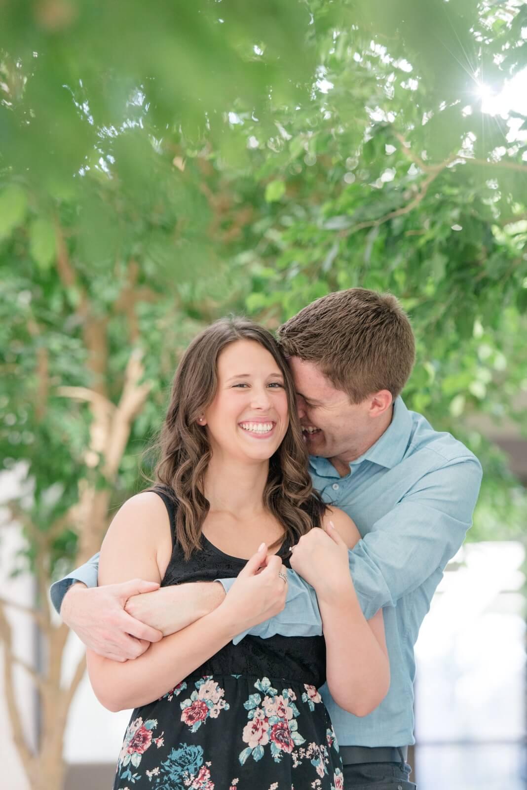 Regina Engagement Photographer - Cory-Kelsey - Amongst the trees