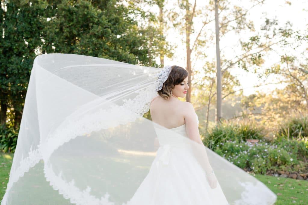 Regina Wedding Photographer - Amy - Swooping Veil