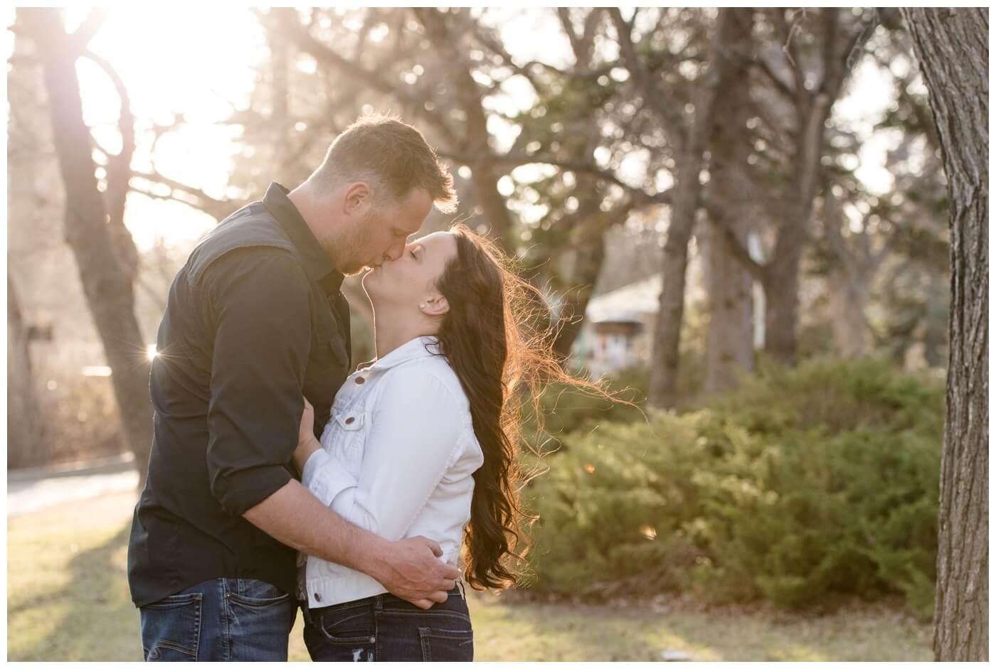 Travis & Coralynn Regina Engagement Session- Engagement in Wascana Park