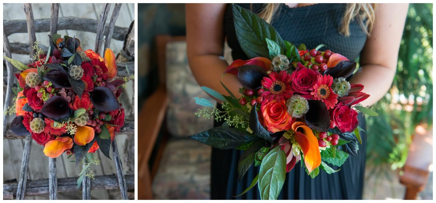 Regina Wedding Photographer - Blooms by Alison - Gales Florist - Fall Wedding Floral Arrangement