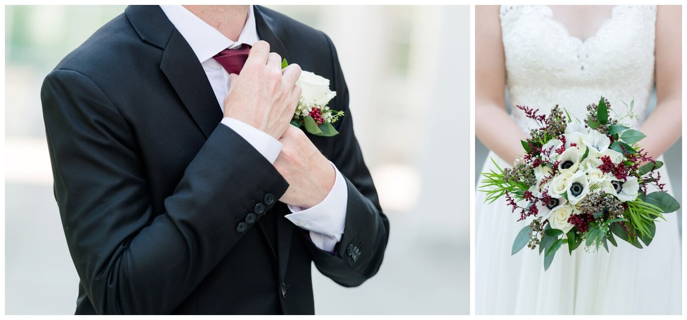 Regina Wedding Photographer - Blooms by Alison - Gales Florist - Wedding Floral Arrangement