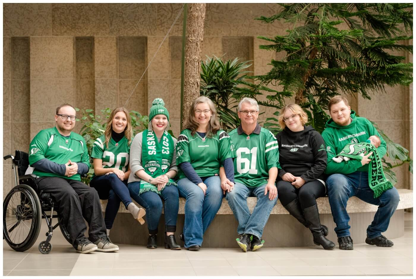 Regina Family Photography - Fahlman Family - Rider Pride - Family Session - TC Douglas Building