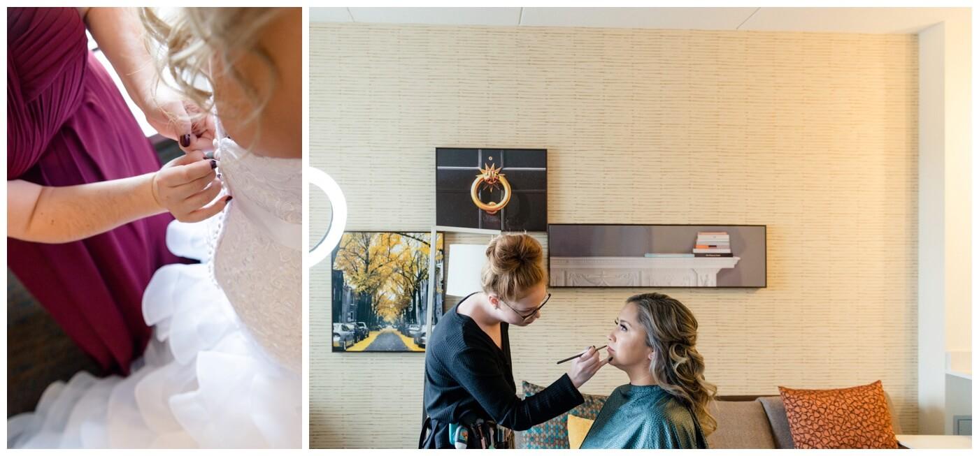 Regina Wedding Photographer - Laurie - Destiny - Fall Wedding - Residence Inn - Bridal Suite