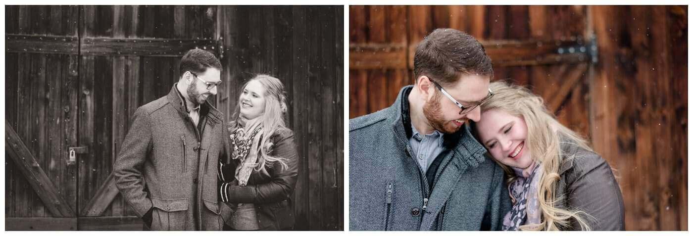 Regina Engagement Photography - Regina Wedding Photographers- Mitch-Latasha - Winter Engagement - Regina Rowing Club