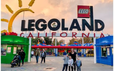 The Liskes in SoCal: Legoland