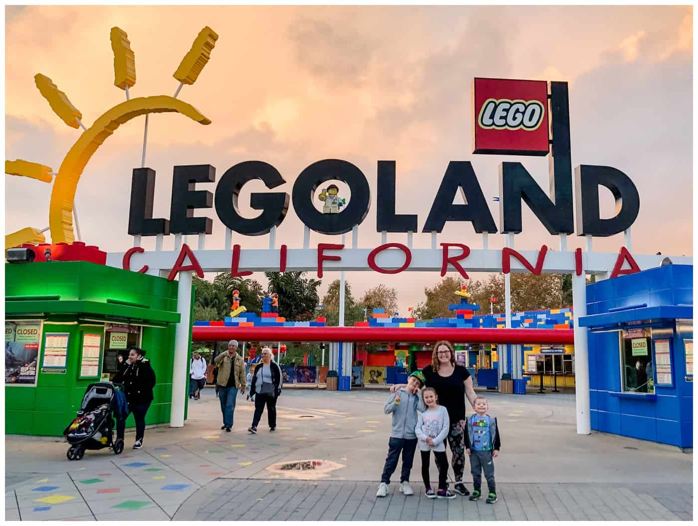 The Liskes in SoCal: Legoland