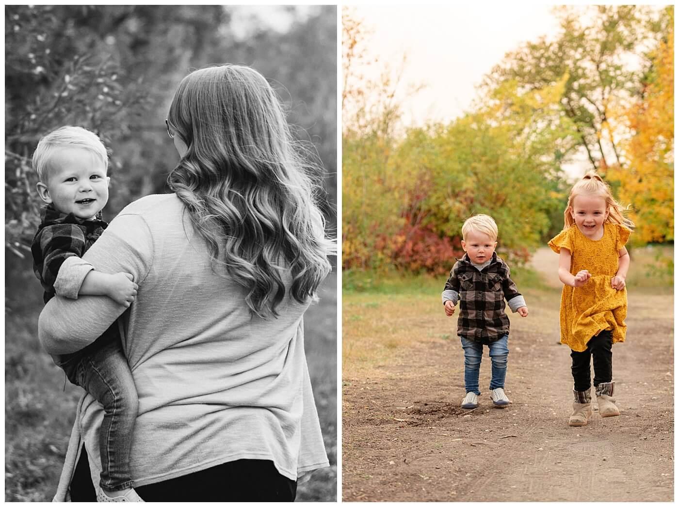 Liske Family 2020 - Science Centre - 010 - Cute jog
