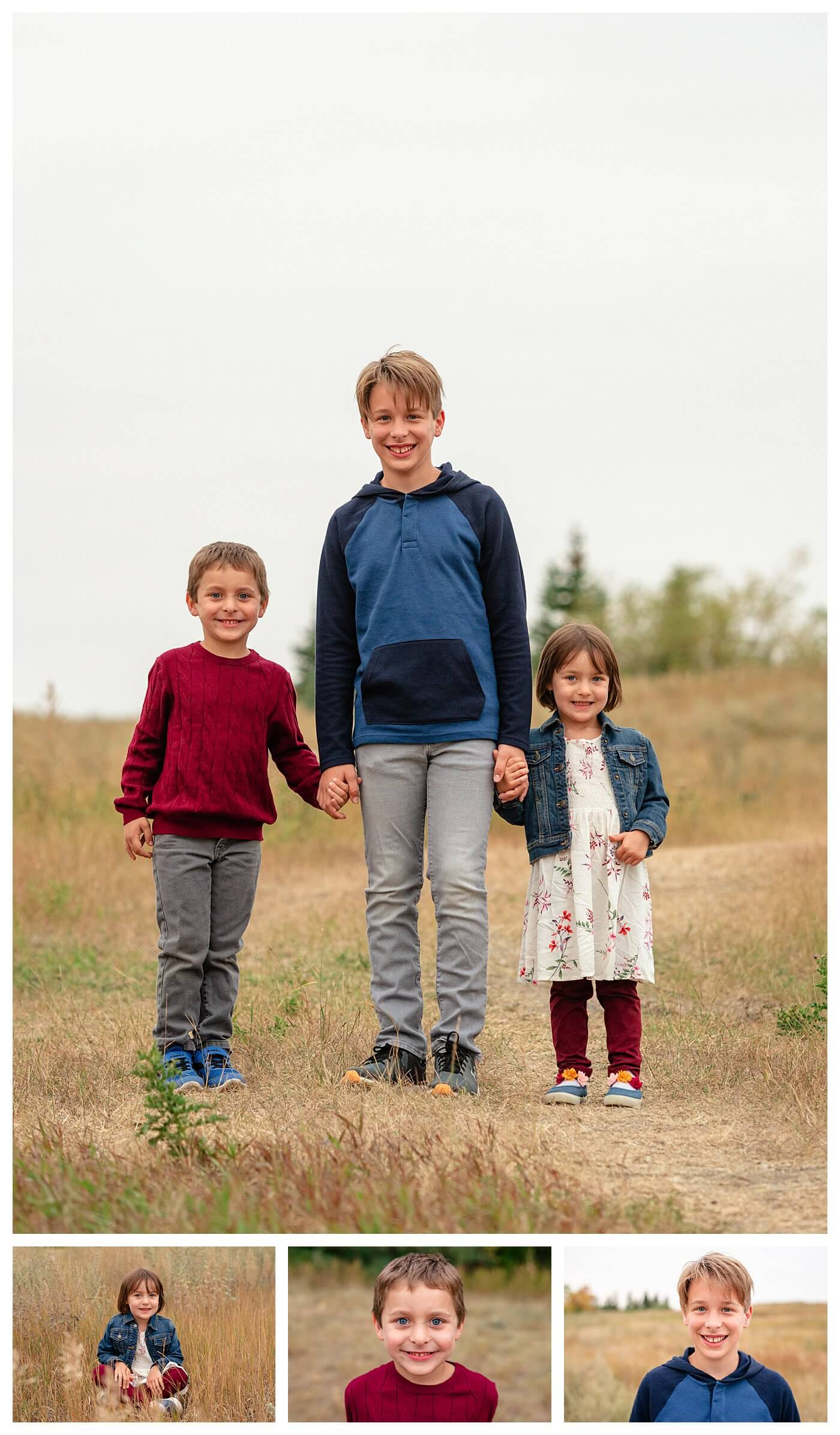 Schlamp Family 2020 - 005 - Regina Family Photographer - Kids together and individual