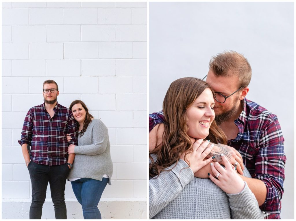 Regina-Engagement-Photographer-Kolton-Maxine-003-White-wall-snuggles-