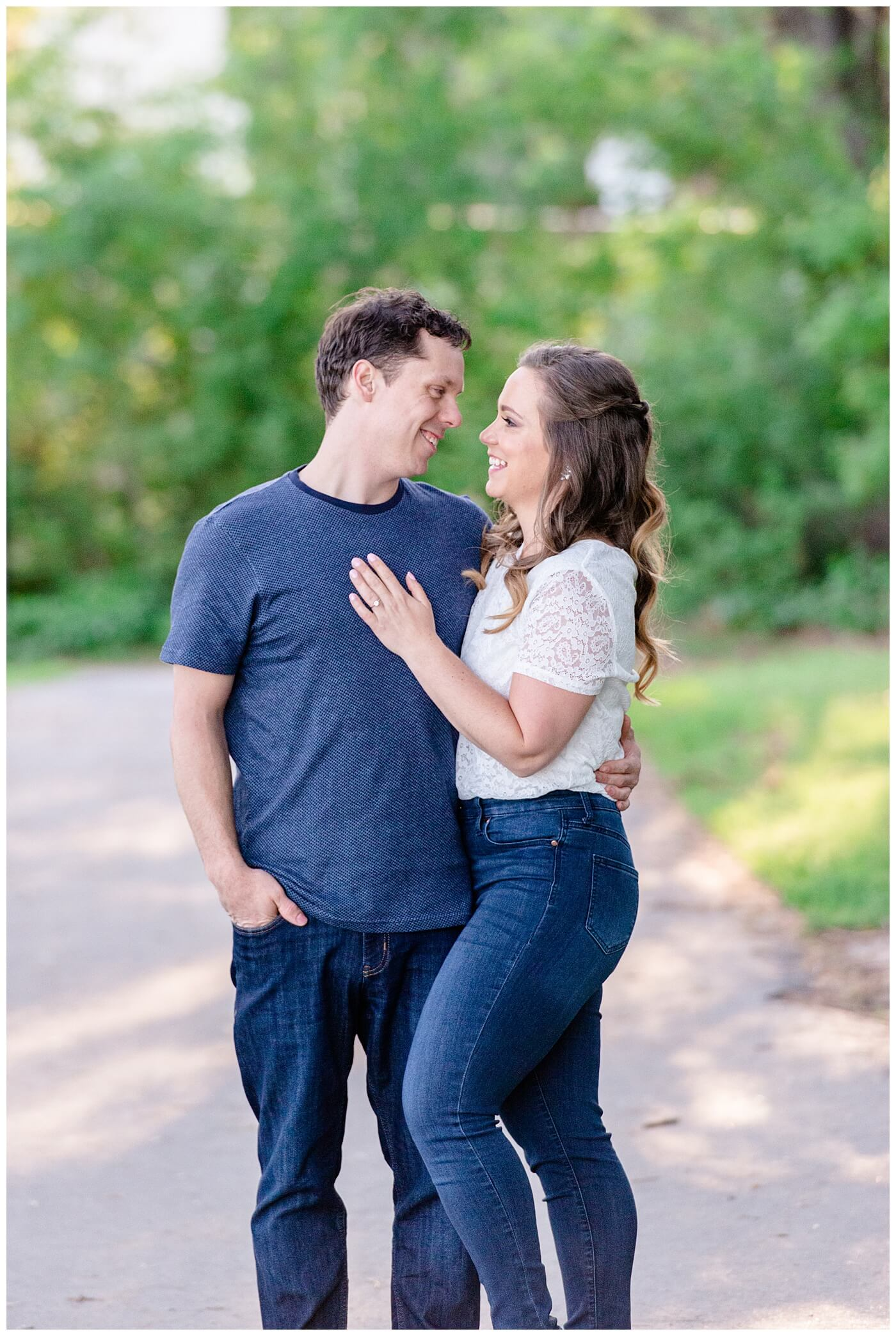 Regina Engagement Photographers - Adam - Sarah - Natural Light Engagement Session in Wascana Park - Couple in Wascana Park