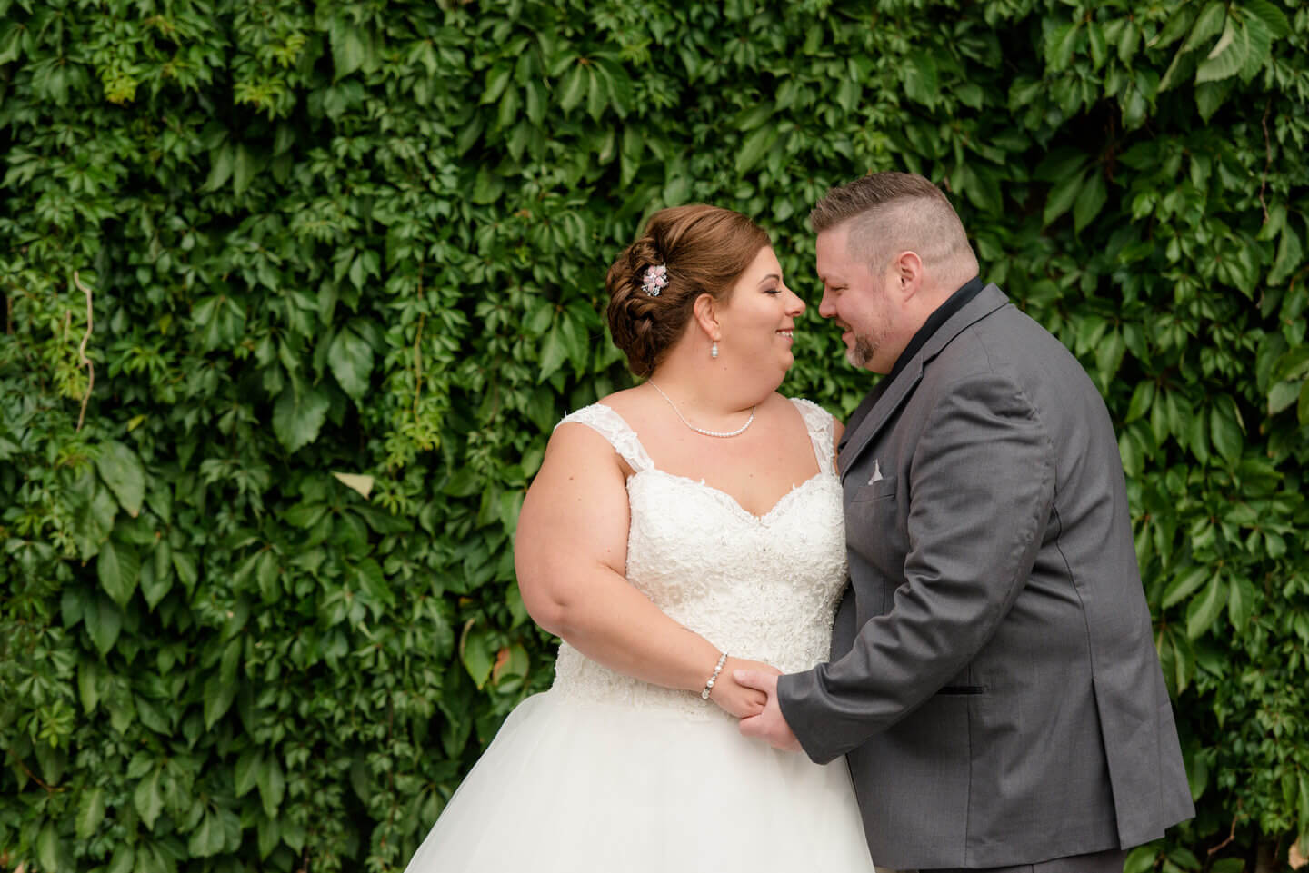 Living Wall - Bride & Groom Wedding Portraits