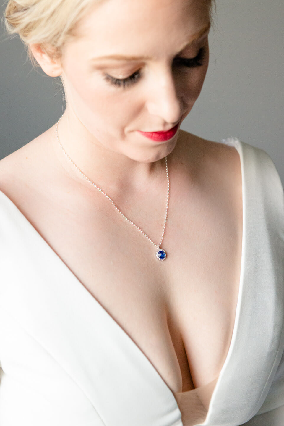 Bride's Necklace - Pre-Wedding Bridal Portraits