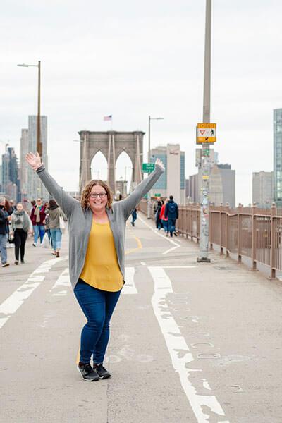 Courtney in New York - hello New York