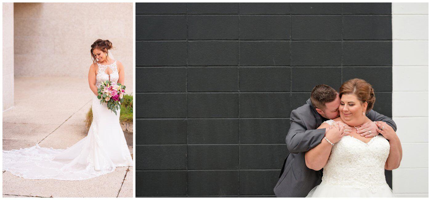 Newline Fashions & Bridal - Black & White Wall and TC Douglas Building