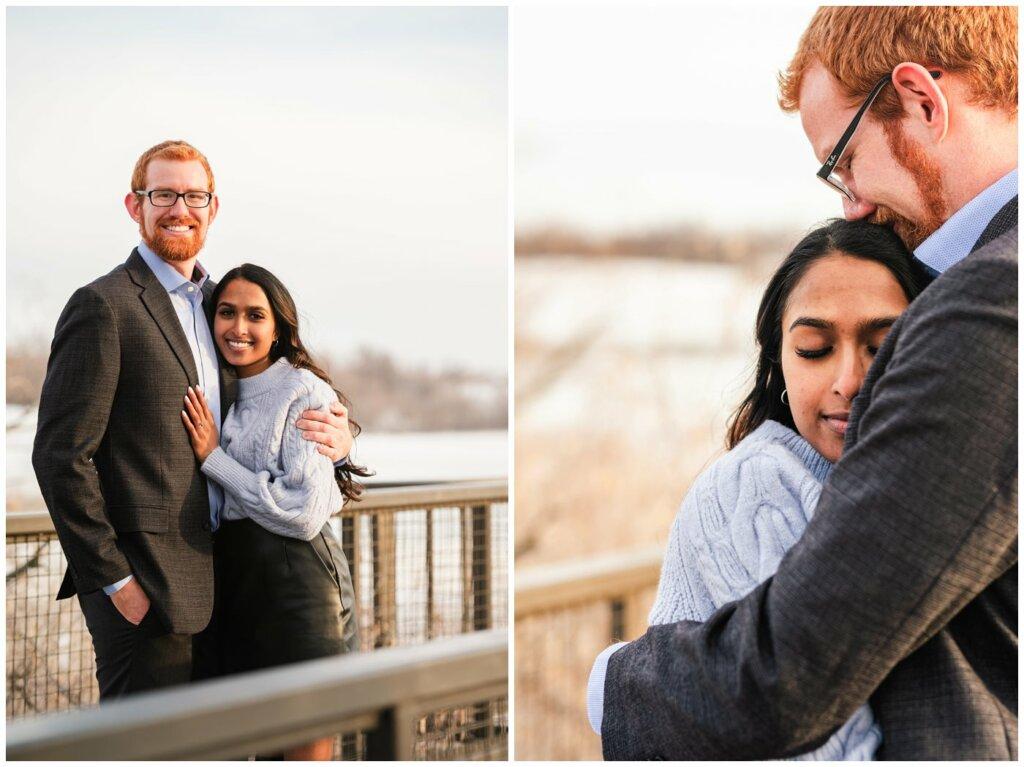 Regina Engagement Photography - Stephen & Sarah - 004 - Newly Engaged Couple