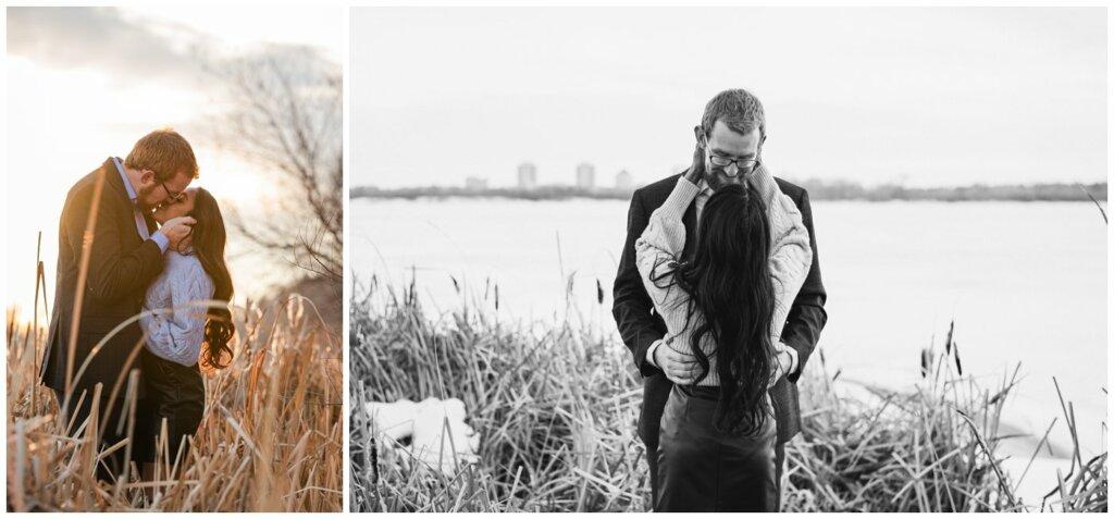 Regina Engagement Photography - Stephen & Sarah - 008 - Wascana Lake Engagement Session