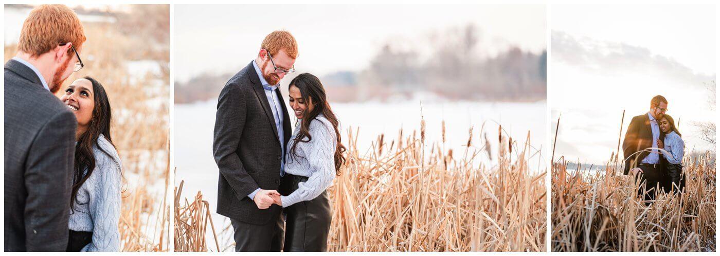 Regina Engagement Photography - Stephen & Sarah - 009 - Science Centre Trails Engagement Session