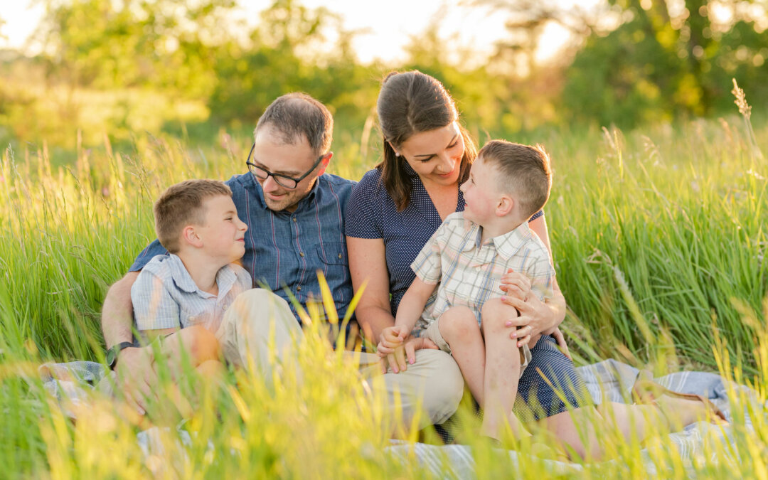 Brent & Courtney – Family Session 2021