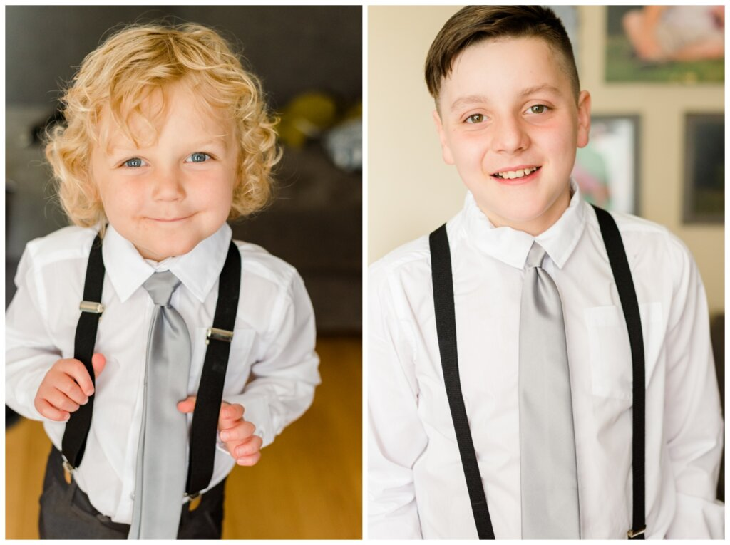 Jon & Callie - 02 - Sons getting ready for wedding