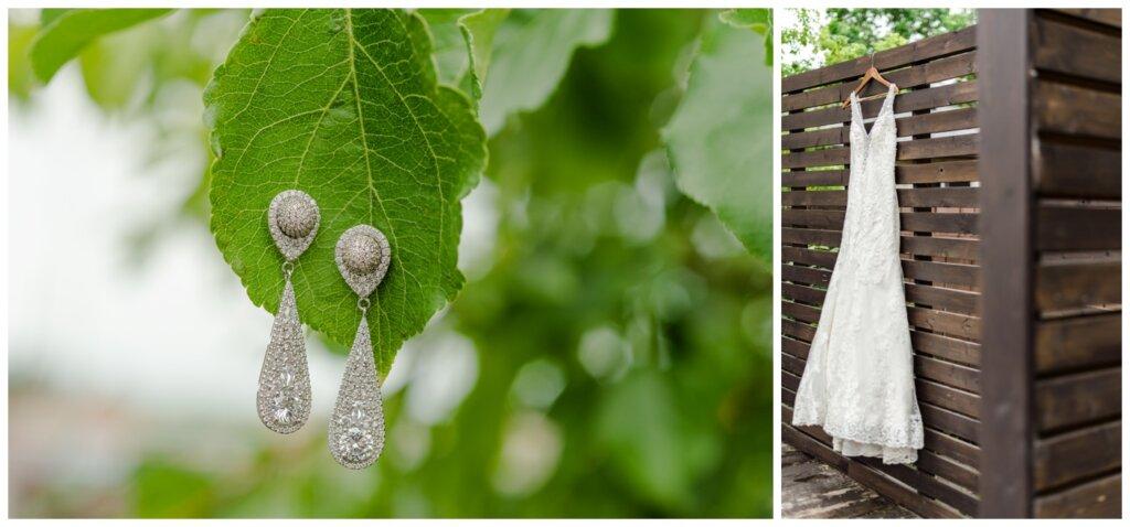 Jon & Callie - 05 - Bride's Dress and Earrings