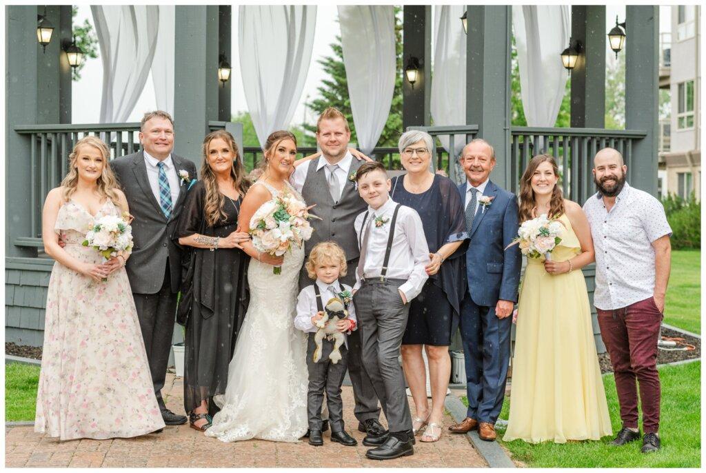 Jon & Callie - 13 - Family formals in the rain