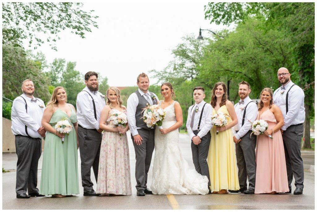 Jon & Callie - 15 - Wedding Party at TC Douglas Building