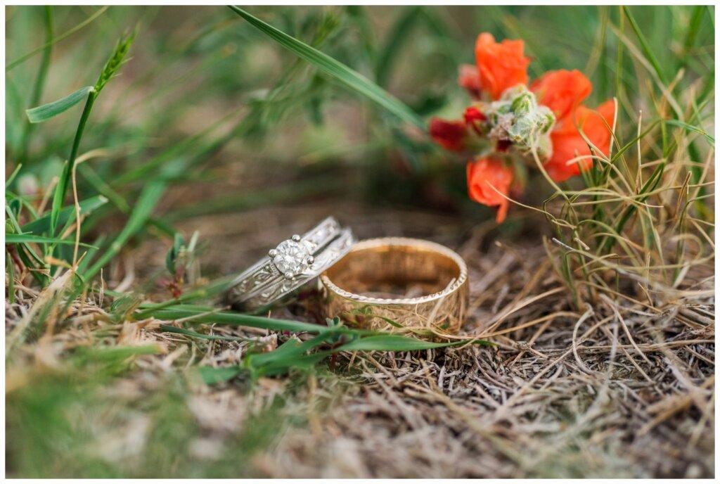 Colter & Jillyan - Encore Wedding Session - 12 - Wedding Rings in West Regina