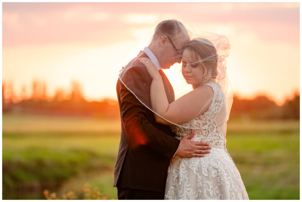 Colter & Jillyan - Encore Wedding Session - 14 - Sunset Photos of Bride & Groom in Regina
