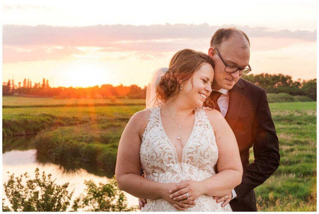 Colter & Jillyan - Encore Wedding Session - 15 - Sunbeams on Bride & Groom